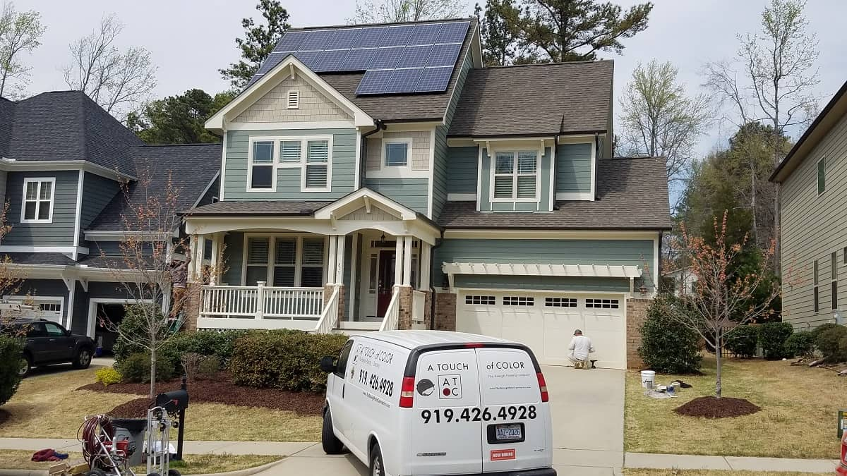 Exterior-Home-Painting-Cary NC