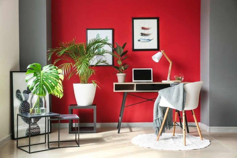 How Red Interior Paint Colors Affect Mood