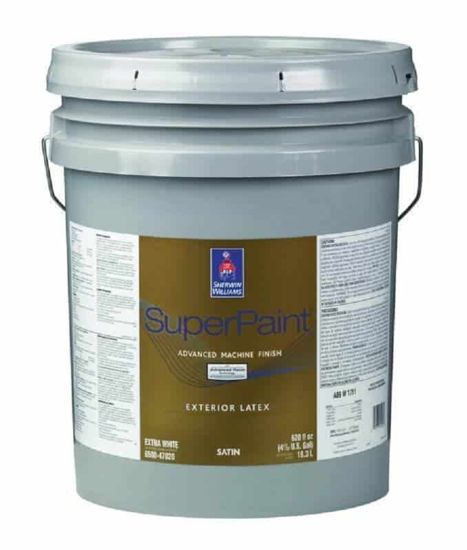 Sherwin-Williams Exterior Super Paint Then & Now