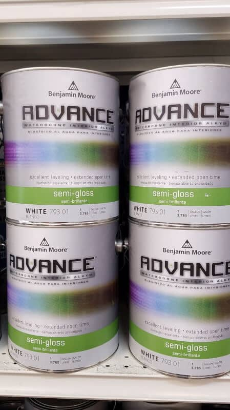 Benjamin Moore Advance Oil Paint - A Touch of Color Painting