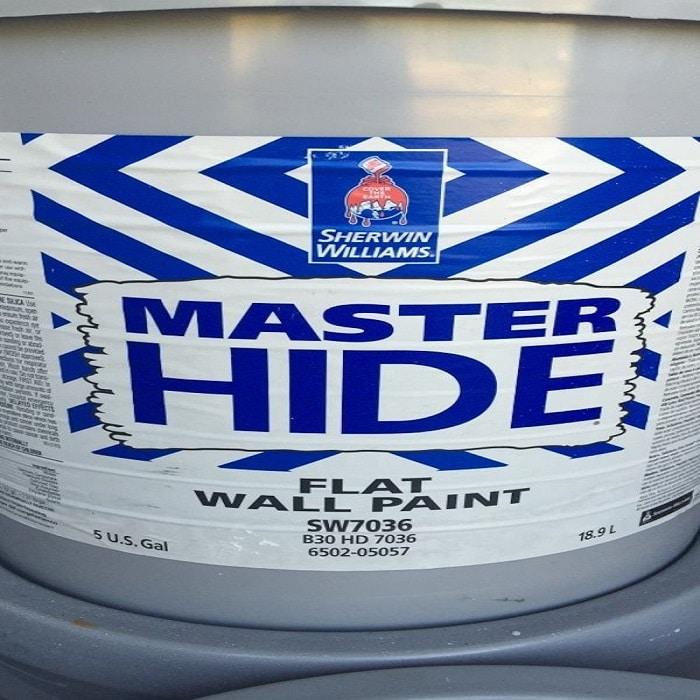 Sherwin-Williams Master Hide Flat Paint