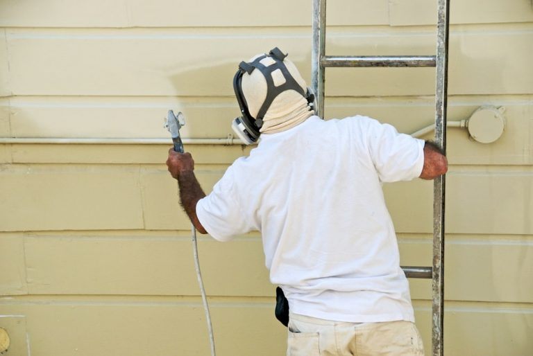 Painting Brushing vs Spraying Raleigh Homes