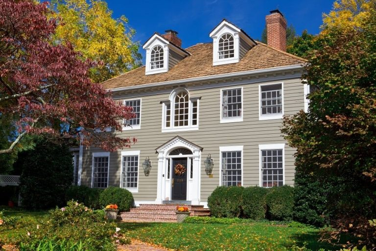 Exterior House Painting During Fall