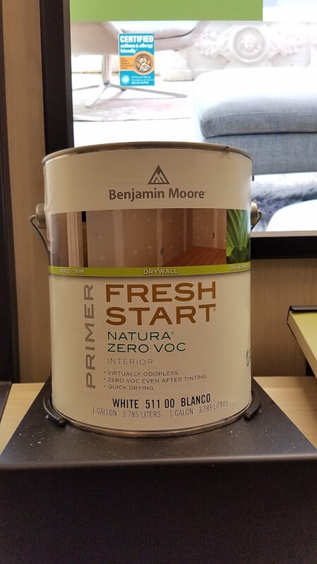 Benjamin Moore Natura Primer A Touch Of Color Painting
