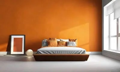 Orange Interior Paint Colors Raleigh, NC